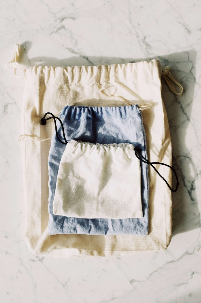 reusable bags to use and be zero waste during the coronavirus