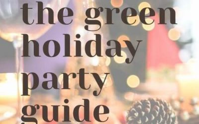 Easy Tips For A Green Holiday Party