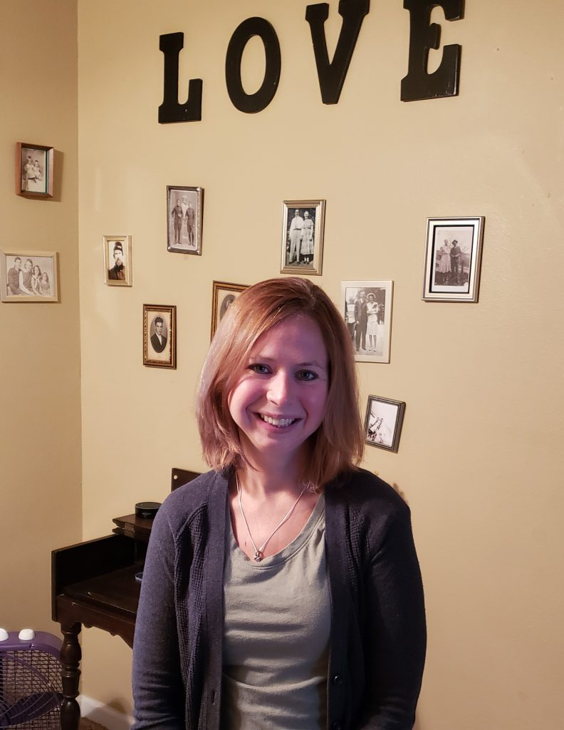 photo of Becky, guest author