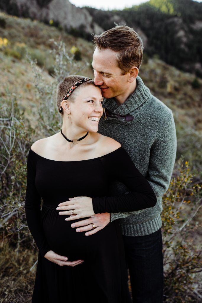 maternity photo of Katie and Kevin
